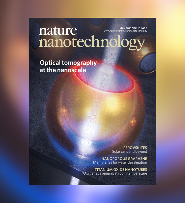Cover voor Nature Nanotechnology